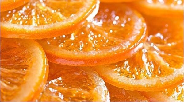 Дольки апельсин