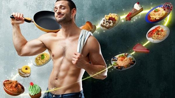 Рацион для похудения мужчин
