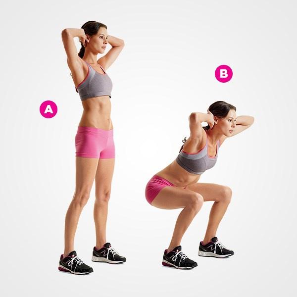 Эффективный комплекс из 5 упражнений для похудения