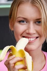 до еды можно съесть и банан