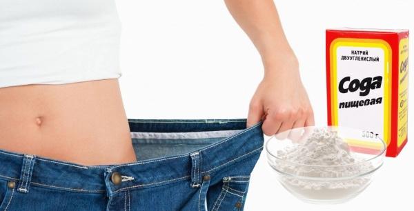 Похудеть с помощью питьевой соды