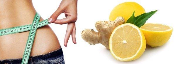 Как похудеть с помощью смеси имбиря и лимона?