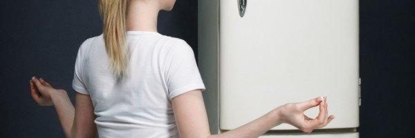 Медитация у холодильника