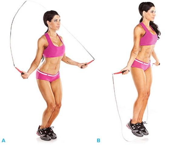 Упражнения лежа на спине для похудения