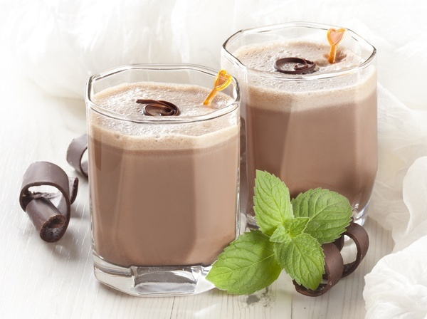 Шоколадный коктейль для похудания