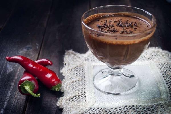 Шоколадный коктейль с перцем для похудения