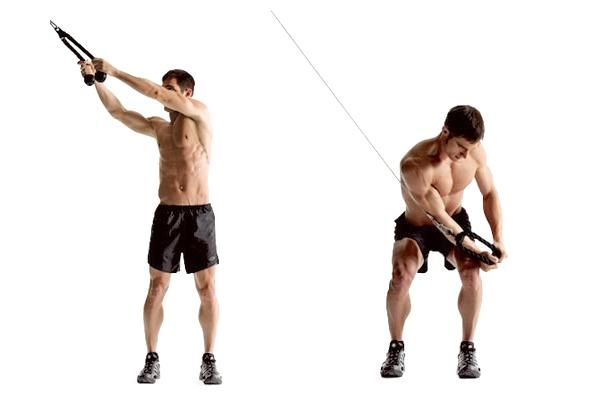 Упражнение дровосек
