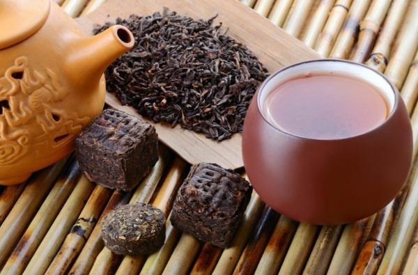 Чай пуэр в похудении