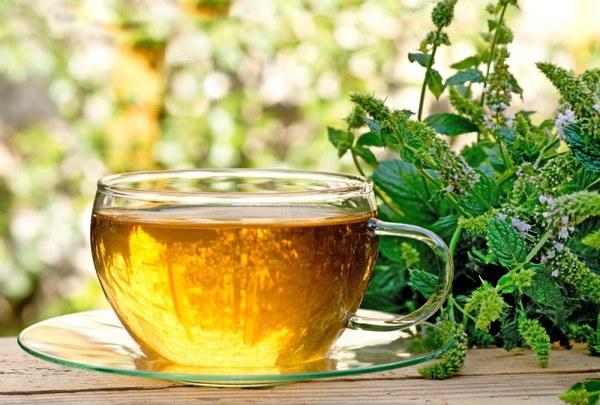 Чай с мятой и чабрецом