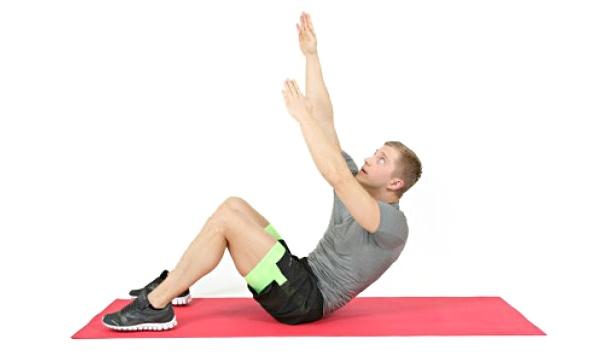 Упражнение 3 - подъем под углом
