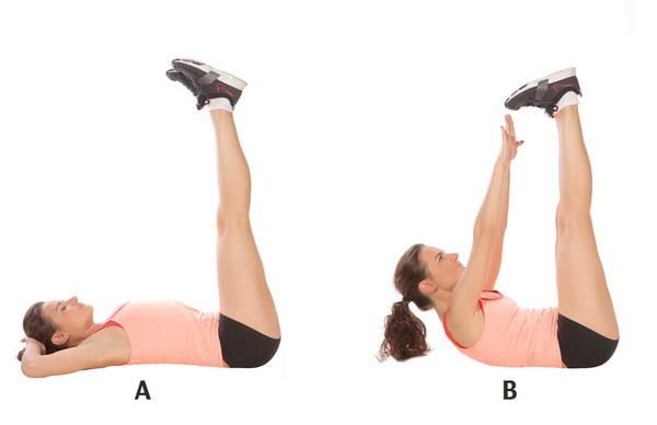 Упражнение - раскладушка