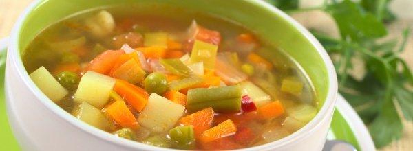 Похудение с полезными овощными супами