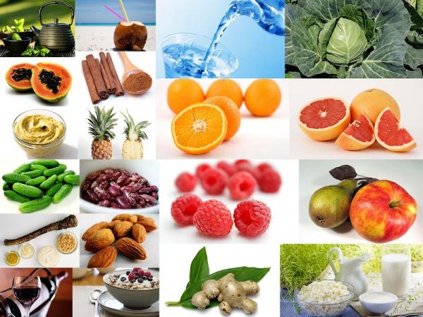 Продукты влияющие на похудение