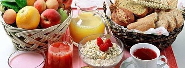 Полный список продуктов для похудения
