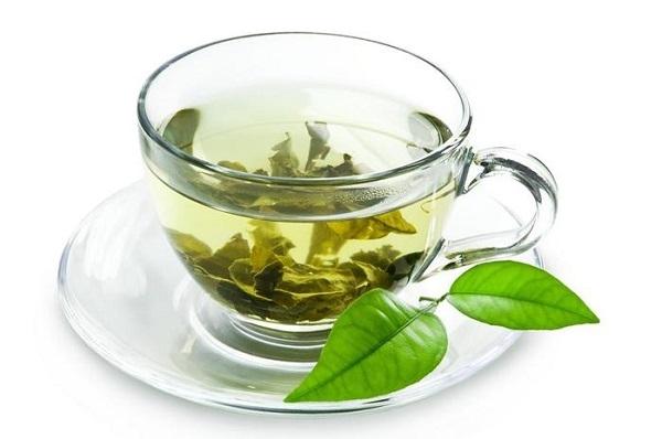 Чашечка зелёного чая