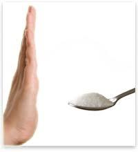 откажитесь от сахара во время диеты