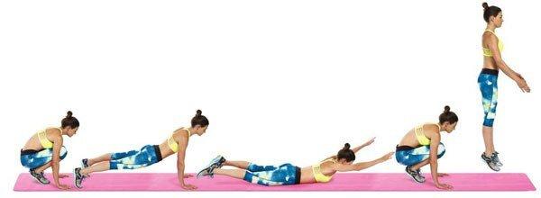 Упражнения Burpee. Как их правильно выполнять?