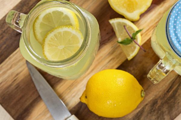 Лимонный напиток при похудении
