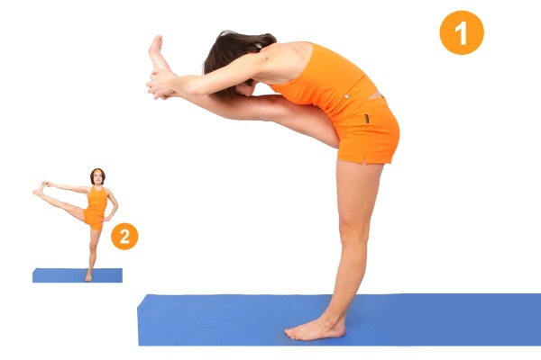 Поза в йоге - Уттхита Паршвасахита