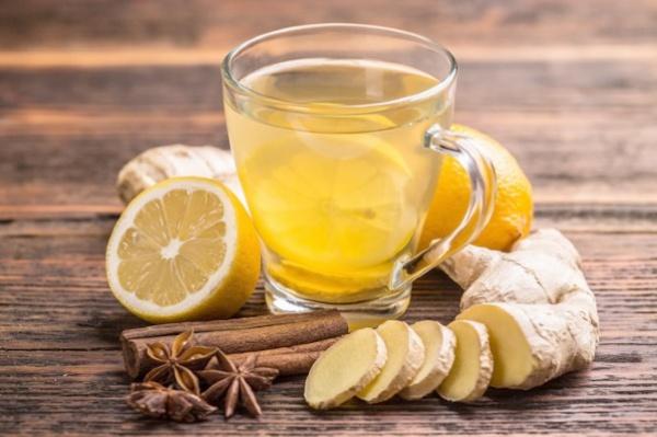 Зеленый чай с имбирем, корицей и гвоздикой
