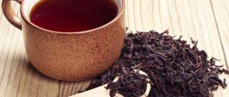 Черный чай при похудении