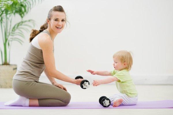 Похудение с ребенком