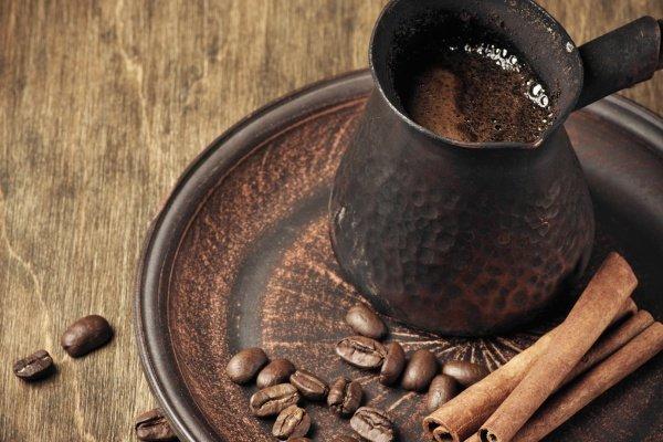 Кофе в турке с корицей