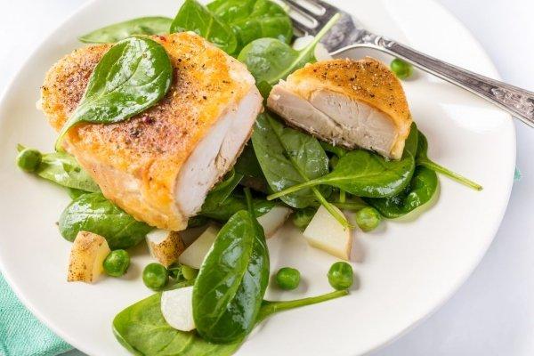 Белковое блюдо для диеты